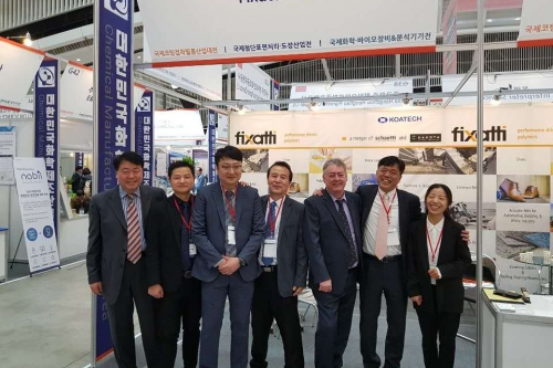 Fixatti exhibits at Int'l Coating, Adhesive and Film Industry Expo on 27-29.03.2019 Korea
